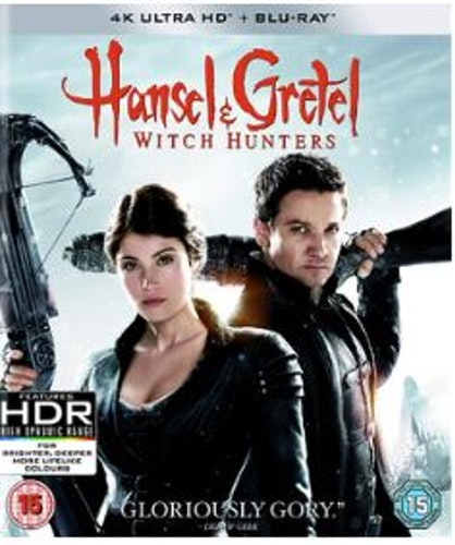 Hansel And Gretel Witch Hunters 4K Ultra HD + Blu-Ray (import)