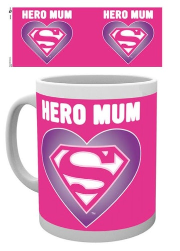 Mugg Superwomen Hero mum