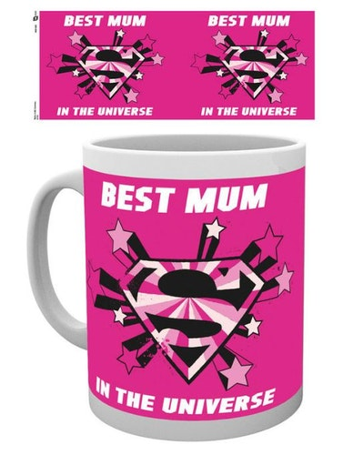 Mugg Superwomen Best mum in the universe