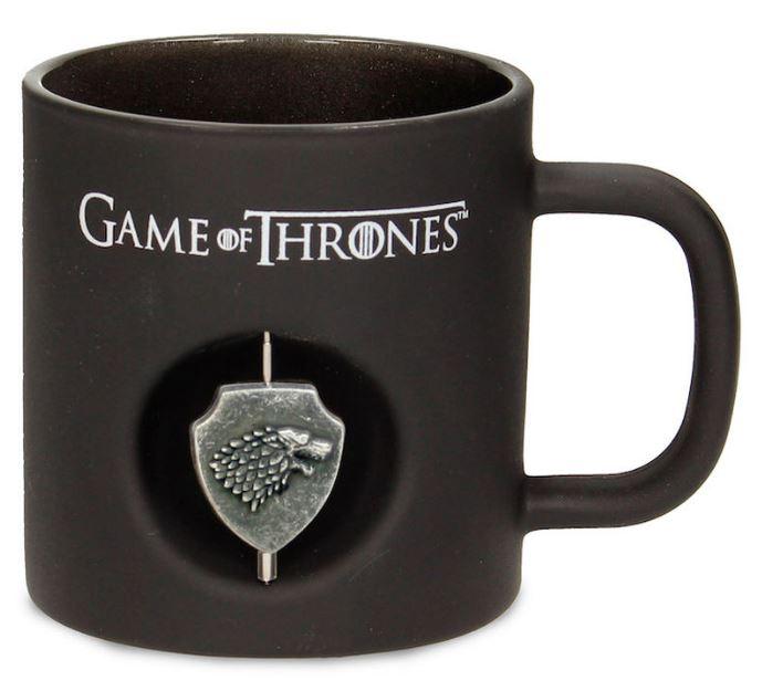 Mugg Games of Thrones - Starks sköld i 3D