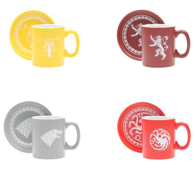 Espressomuggar Games of Thrones - 4 pack
