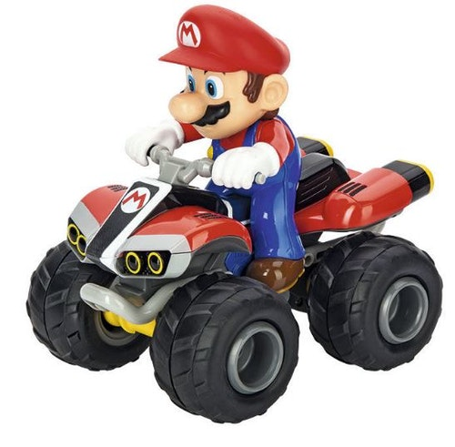 Nintendo Mario Kart radiostyrd fyrhjuling