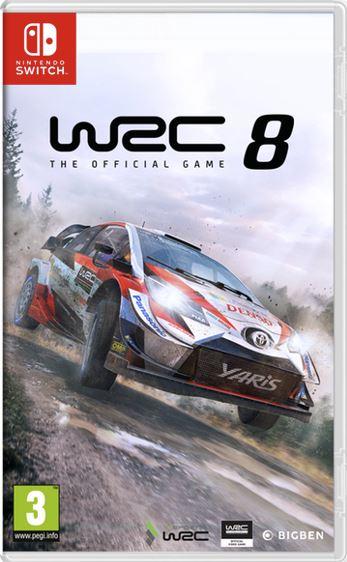 WRC 8: FIA World Rally Championship (Switch)
