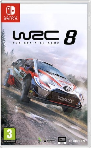 WRC 8: FIA World Rally Championship (Switch)