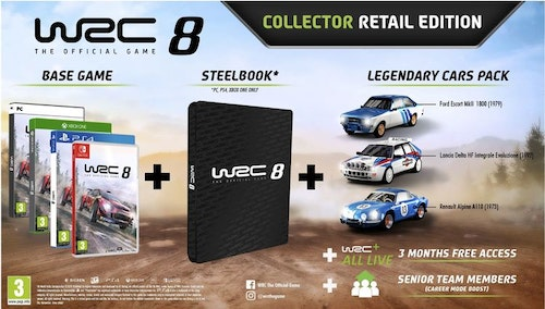 WRC 8 Collector's edition Switch