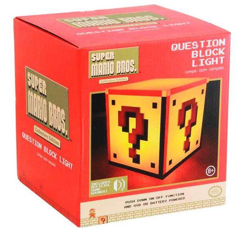Lampa Nintendo - Question blck