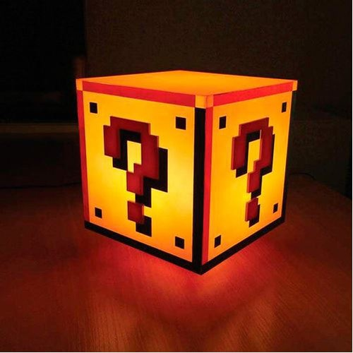 Lampa Nintendo - Question blck