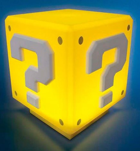 Lampa Nintendo - Question block mini