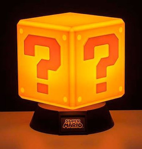 Lampa Nintendo - Question block 3D