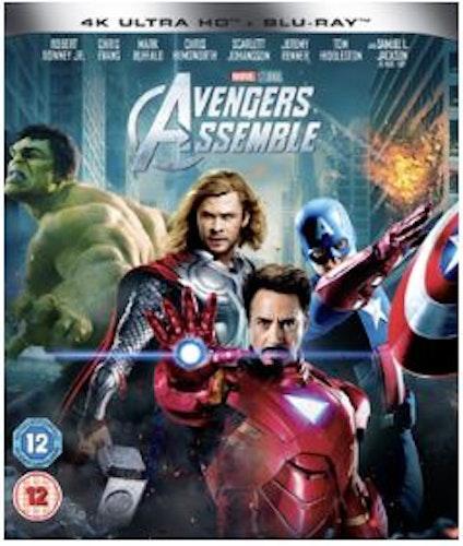 Avengers 4K Ultra HD + Blu-Ray (import)