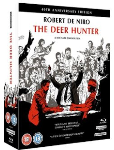 The Deer Hunter 40th Anniversary Collector's Edition 4K UHD Blu-Ray (import)