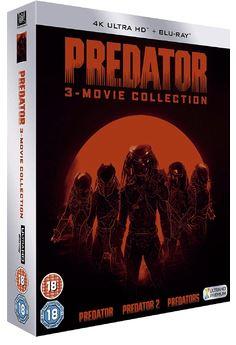 Predator Trilogy - Predator + Predator 2 + Predators 4K Ultra HD + Blu-Ray (import)
