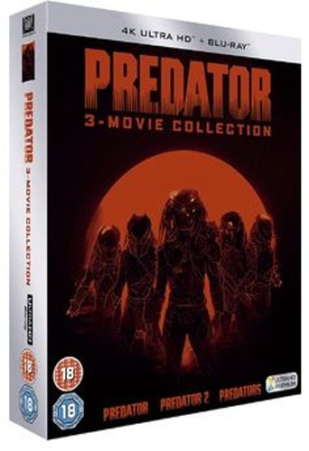 Predator Trilogy - Predator + Predator 2 + Predators 4K Ultra HD + Blu-Ray (import)
