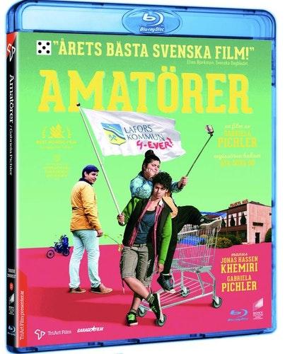 Amatörer (bluray, svensk utgåva)