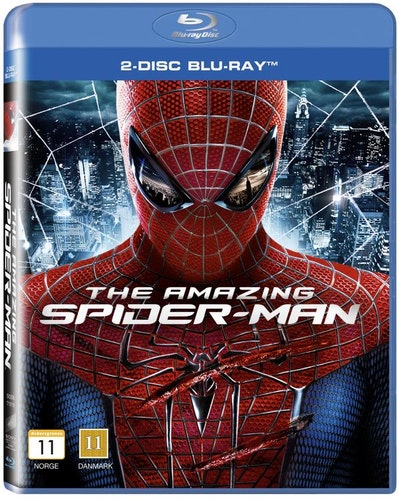 THE AMAZING SPIDER-MAN (bluray)
