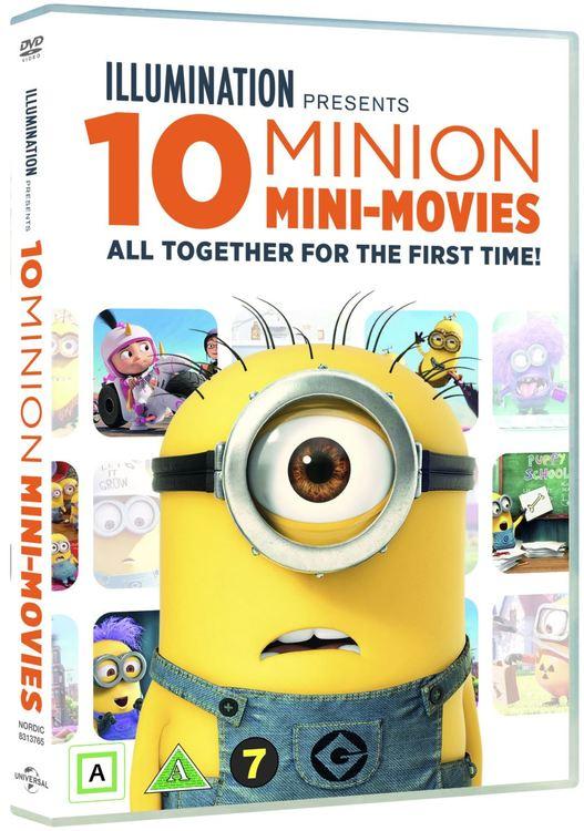 10 Minion mini movies collection DVD