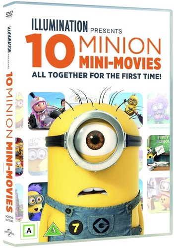 10 MINION MINI MOVIES COLLECTION DVD