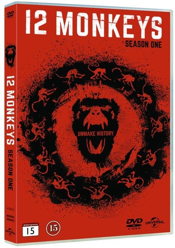 12 MONKEYS - säsong 1 DVD