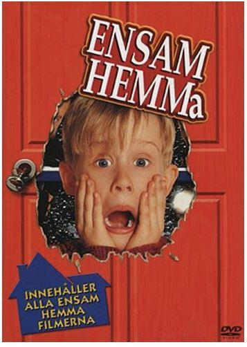 Ensam hemma 1-4 DVD box