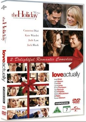 Holiday (2006)/Love Actually (2-disc) DVD