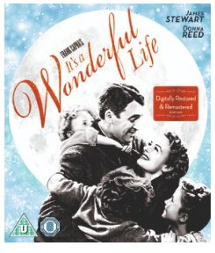 It's a Wonderful Life Blu-Ray  1946 (import med svensk text)
