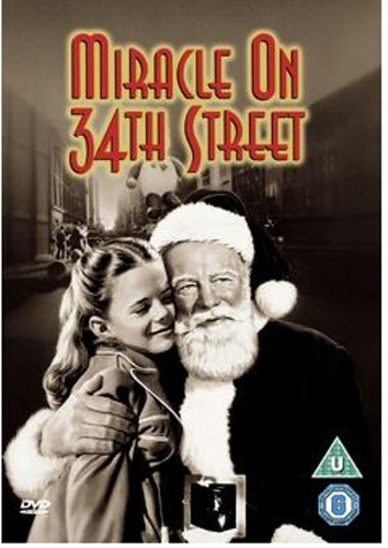 Miracle On 34th Street/Det hände i New York DVD  1947 (import med svensk text)