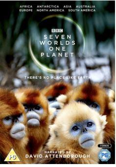 David Attenborough - Seven Worlds, One Planet DVD 2019 (import)