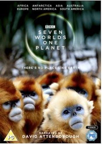 David Attenborough - Seven Worlds, One Planet Blu-Ray  2019 import