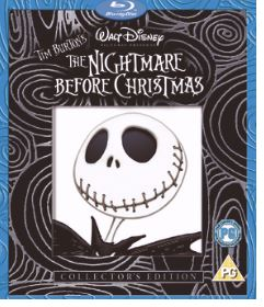 The Nightmare Before Christmas Blu-Ray (import)