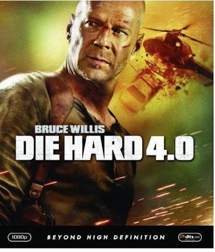 Die hard 4.0 (bluray, svensk utgåva)
