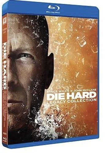 Die Hard 1-5 - Box (bluray)