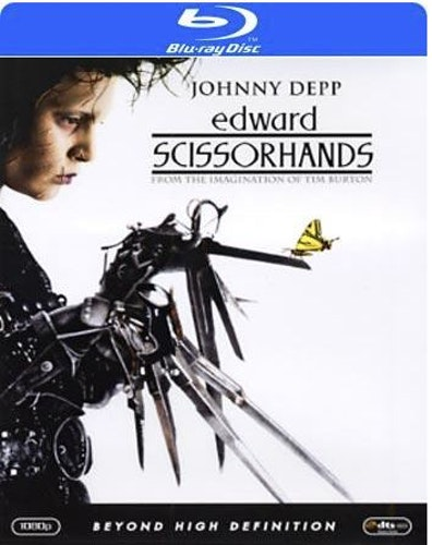 Edward Scissorhands bluray