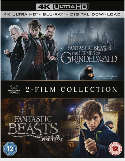 Fantastic Beasts 1+2 Two Film Collection - 4K Ultra HD (import)