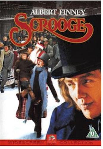 Scrooge DVD  1970 (import med svensk text)