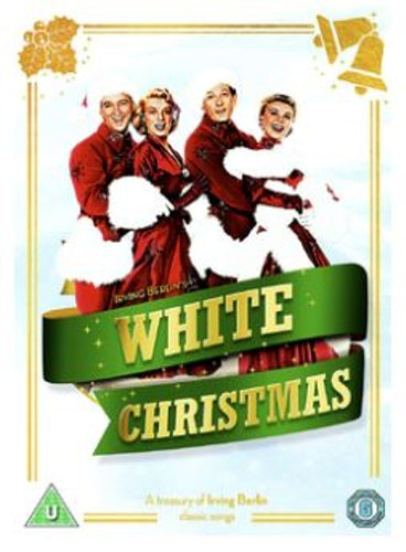 White Christmas DVD  från 1954 (import med svensk text)
