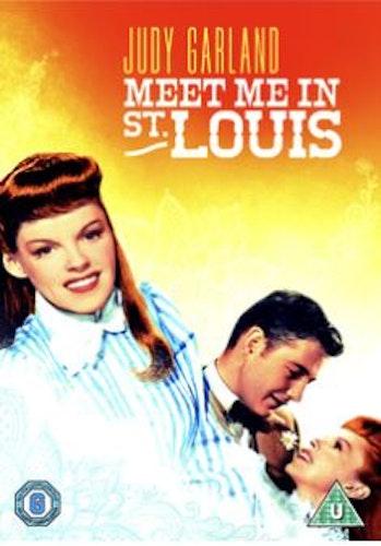 Vi mötas i St Louis 1944 DVD (import med svensk text)