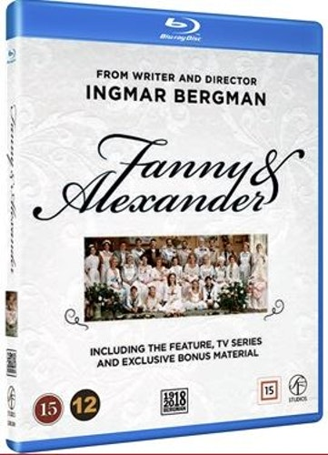 Fanny och Alexander Box bluray (3-disc)