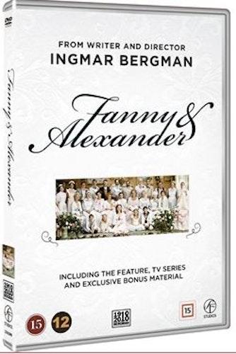 Fanny och Alexander Box DVD (4-disc)