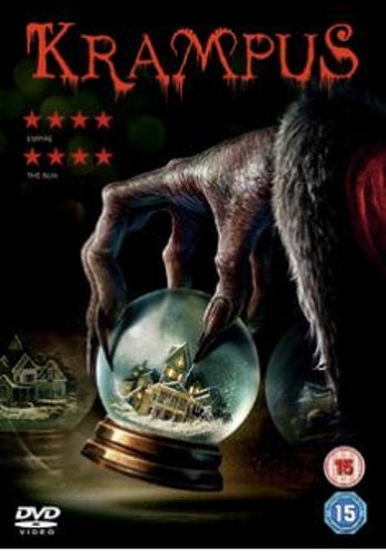 Krampus DVD  2015 (import med svensk text)