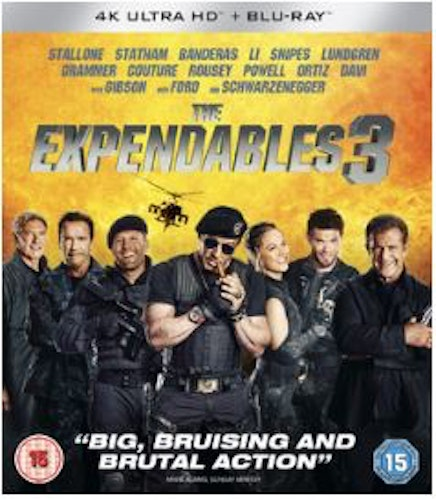 The Expendables 3 4K Ultra HD (import)