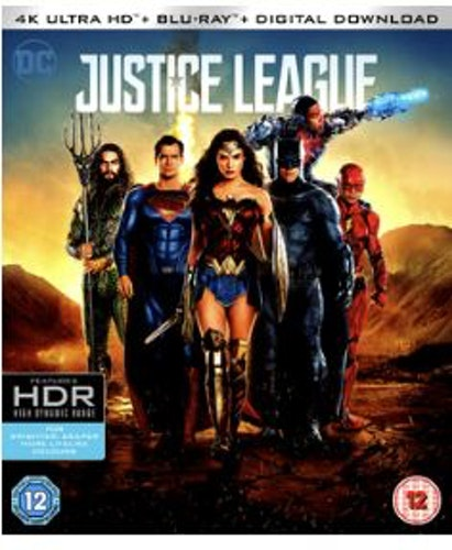 DC Justice League 4K Ultra HD