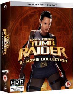 Lara Croft - Tomb Raider + Lara Croft - Tomb Raider 2 4K Ultra HD (import)