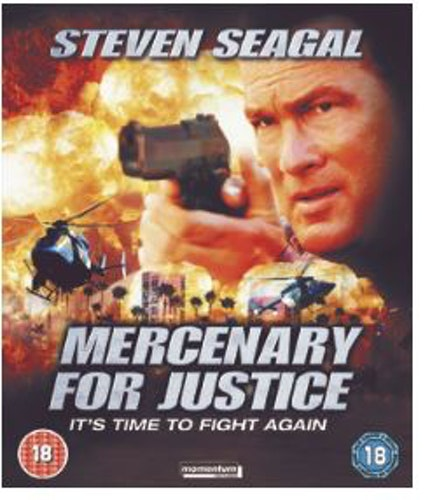 Mercenary For Justice Blu-Ray (import)