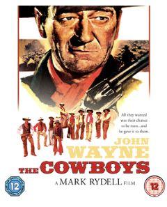 Cowboys Bluray (import med svensk text) 1972