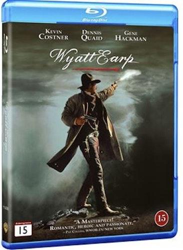 Wyatt Earp Bluray (svensk utgåva)