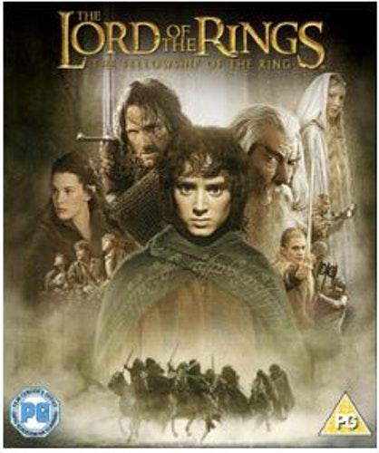 Sagan om ringen - Härskarringen Bluray (import)