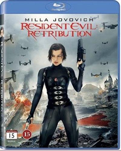 Resident Evil: Retribution Bluray