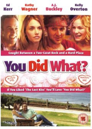 You Did What? DVD (import)