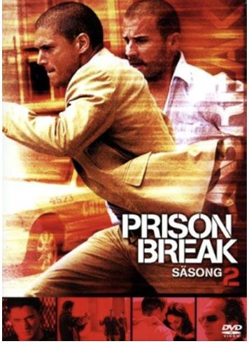 Prison Break - Säsong 2 DVD