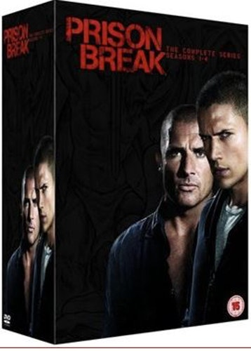 Prison Break (TV-Serien) Complete DVD BOX - Nyutgåva